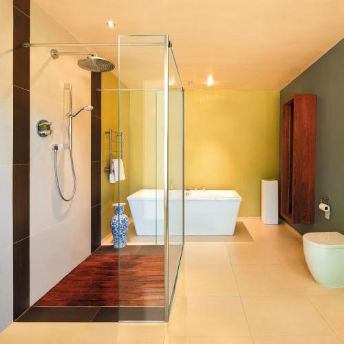 sprchový kút walk-in